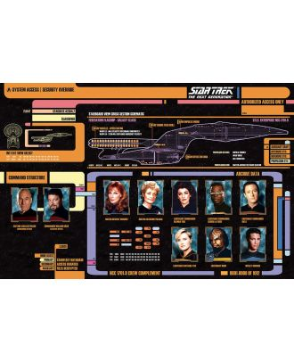 Star Trek - Next Generation Cast 24x36 Poster