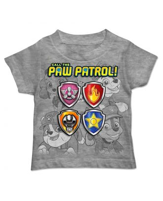Paw Patrol Seal Paws Toddlers Boys T-Shirt