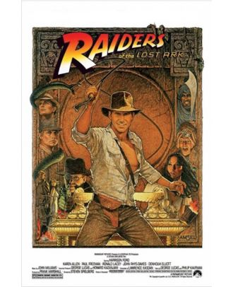 Raiders Of The Lost Ark 24x36 Poster