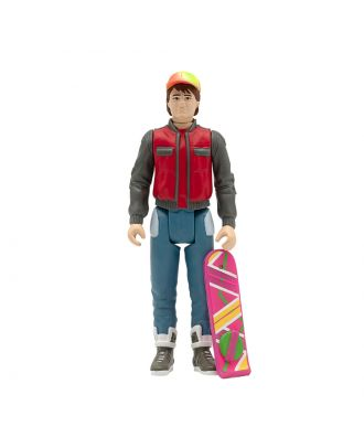 Back To The Future 2 Reaction Figure Future Marty