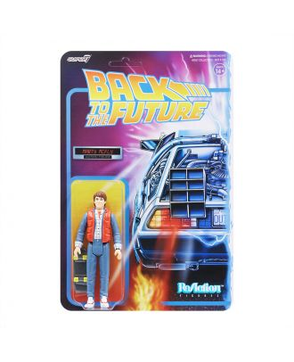 Back To The Future Reaction Figure 80's Marty
