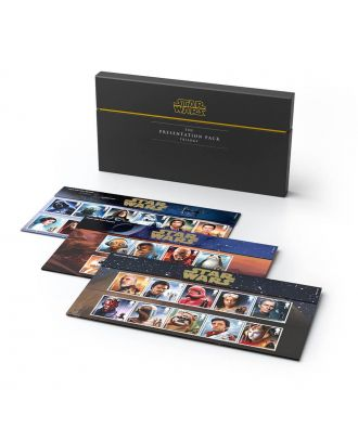 Star Wars Royal Mail Postage Stamp Trilogy Presentation Pack