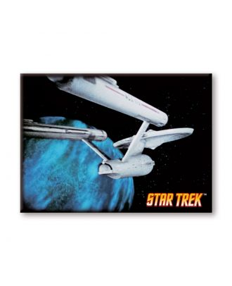 Star Trek Enterprise NCC1701 Photo Magnet