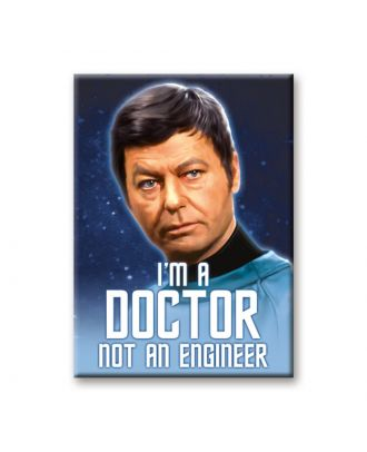 Star Trek McCoy I'm A Doctor Art Magnet