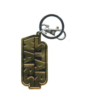 Star Wars Logo Pewter Keychain