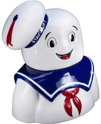 Ghostbusters Stay Puft Marshmallow Man Cookie Jar