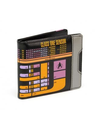 Star Trek: The Next Generation - LCARS Mens Wallet Front