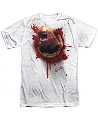 Alien Chestburster One Side Adult Sublimation T-Shirt