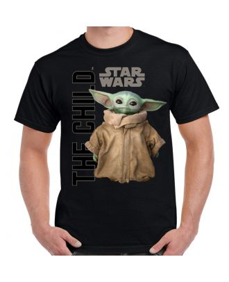 The Mandalorian Child - Gazing Adult T-Shirt