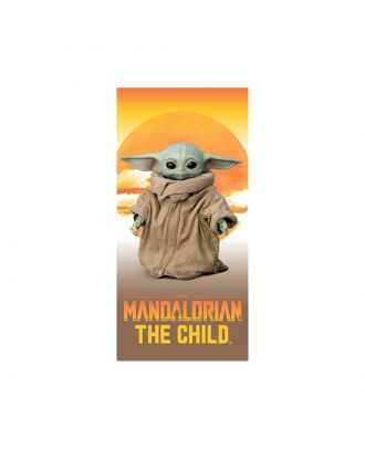 Star Wars The Mandalorian The Child 28x58 Beach Towel