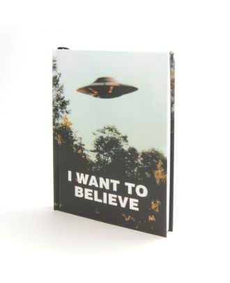 X-Files: I Want To Believe Journal Hardcover